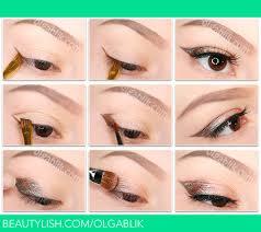 how to put makeup on sagging eyelids olga b s olgablik photo beautylish