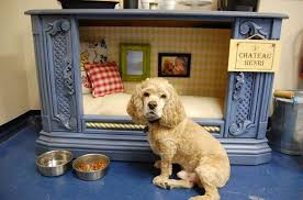 repurpose furniture dog. A Dog Bed Made From An Old TV Cabinet Repurpose Furniture