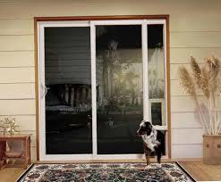 Jeld wen patio doors with pet door