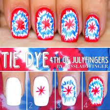 4th of Julyfingers: 3 Easy Nail Art Ideas - Miss Ladyfinger