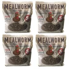 bag of dried mealworms for ens wild birds ducks and small pets 4 pack