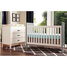 convertible baby cribs. Baby Mod Modena Two Tone 2-in-1 Convertible Crib Gray And White - Walmart.com Cribs