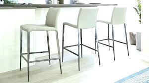 grey leather counter height bar stools pertaining to designs white co grey leather counter height bar stools
