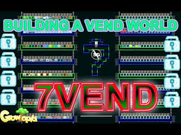 How To Make Vending Machine In Growtopia Classy Growtopia Building A Vending World YouTube
