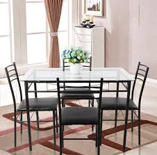 modern dining table sets. Full Size Of Dining Room Table Modern Simple Steel Legs With Rectangular Topping Window Curtain Vases Sets