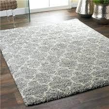 lofty trellis plush area rug gray ivory x polypropylene rugs 6x9