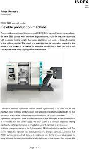 Flexible production machine - PDF