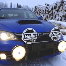 my hella lights rallye 4000 black note dimensions in millimeters