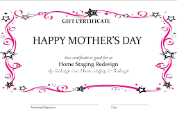 Store Gift Certificate Template Template Store Gift Certificate Template Homemade Elegant Business