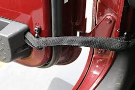 jeep wrangler door amazon com single jeep door limiting strap for wrangler jks 07 16 smart strap