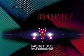 owner s manual 2000 pontiac bonneville