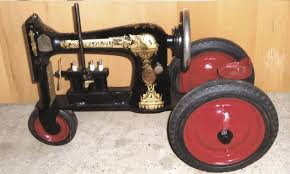 Tractor Made From Sewing Machine