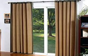 sliding glass door curtains with blinds lush sliding glass door curtains patio sliding door burlap curtains