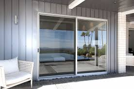 attractive double sliding glass door with fashionable grey steel wall plus white rattan chair complete modern lamp double sliding patio doors s97 sliding