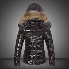 New Moncler Jackets For Women Black With Fur Cap UK Outlet Fast Delivery On  Sale