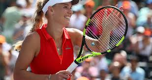 2018 volvo open tennis. contemporary tennis caroline wozniacki defeats annika beck in straight sets at volvo car open in 2018 volvo open tennis b
