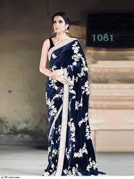 Latest Velvet Saree Designs Lg 1081 Velvet Saree Velvet Saree Design
