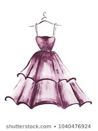 Sketching Clothing Royalty Free Dress Sketch Stock Images Photos Vectors Shutterstock