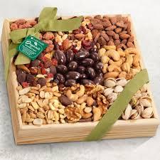 ra4009 mendocino organic nut gift basket