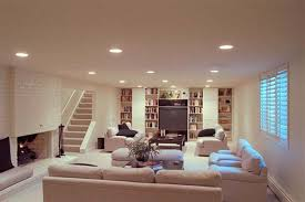 Basement living rooms