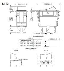 wiring a lighted rocker switch hostingrq com spst toggle switch wiring diagram spst home wiring diagrams 492 x 545