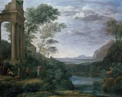 claude lorrain ascanius shooting the stag of sylvia 1682 the landscape as history painting