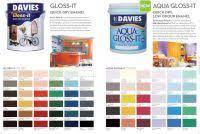 Davies Sun And Rain Color Chart Color Seal