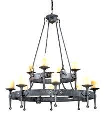 candle chandelier wrought iron australia chandeliers amazing non electric elegant convert
