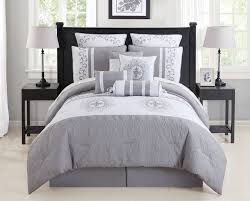 Interior Grey Andite Bedding Gray Bedrooms Ideas Star Curtains Ebay Sets  Chevron Grey And White Bedding