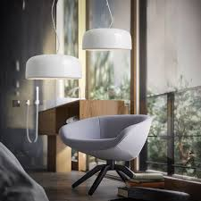 get ations bang town nordic creative lid white minimalist office living room chandelier bar restaurant dining room chandelier