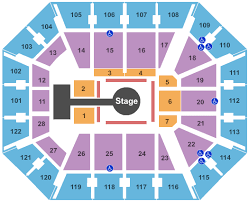 Mma Seating Chart Interactive Seating Chart Seat Views