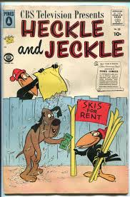 heckle and jeckle 33 1959 pines cbs tv cartoons vg