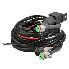online buy whole relay wiring harness from relay wiring 2016 new 12v switch relay twin wiring harness kit for led spotlights work fog light