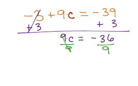solving 2 step equations with integers