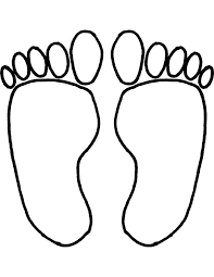Small Picture Foot Coloring Page Free Download Clip Art Free Clip Art on