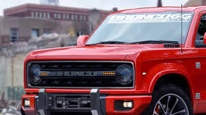 Ford Bronco Is Planning To Build One By 2020  E