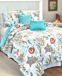 5 Pc Coastal Ocean Beach Nautical Seashell Starfish Quilt Set Full ... & Image is loading 5-Pc-Coastal-Ocean-Beach-Nautical-Seashell-Starfish- Adamdwight.com