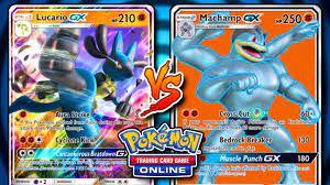 THIS DECK IS CRAZY! - Lucario-GX / Zoroark-GX VS Machamp-GX - Pokemon TCG  Online GAMEPLAY - YouTube