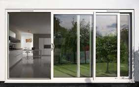 decorating best 3 panels sliding glass patio doors with aluminum frame for modern home