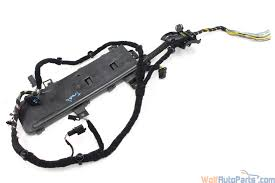 vw phaeton 3d 4 2l trunk lid wiring harness 000970053 172293 2004 2005 2006 vw phaeton 3d trunk lid wiring harness