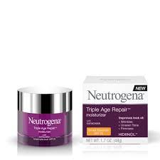 photo of neutrogena triple age repair moisturizer spf 15 1 7oz