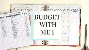 Budget Planner Weekly Spending Tracker Week One