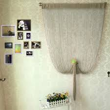 decorative string curtain with beads door window panel room divider