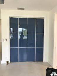 glass sliding closet doors miami