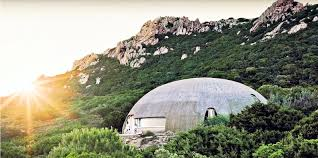 Inflatable Concrete Colorful Binishell Dome Homes Made From Inflatable Concrete Cost
