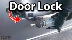 how to fix a broken car door lock