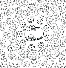 Pusheen Coloring Pages Coloring Free Printable Coloring Pages Also