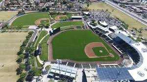 Walking Around The As Practice Fields Drone Footage Oakland Athletics Spring Training Part 1