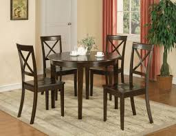 simple dining room design with 5 piece boston round dinette dining with regard to round dining