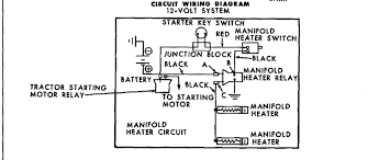 ford 4000 deisel 4cyd electrical q yesterday s tractors the diagram i gave you is for the diesel motor has no coil in it but the book has the manifold heaters in a different picture here is the diagram